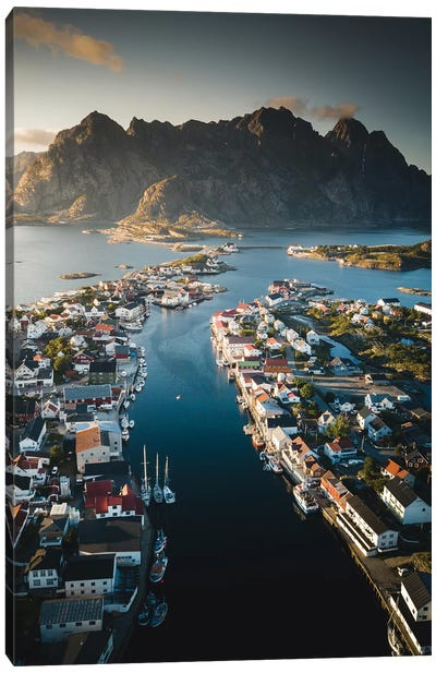 Henningsvær, Lofoten, Norway Canvas Art Print