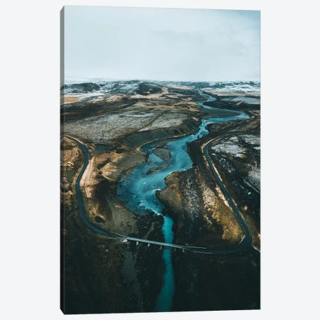 Icelandic Road Trips Canvas Print #FSB28} by Steffen Fossbakk Canvas Artwork