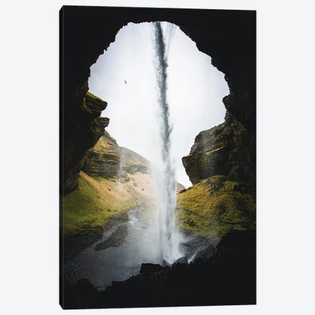 Icelandic Waterfalls I Canvas Print #FSB29} by Steffen Fossbakk Canvas Artwork