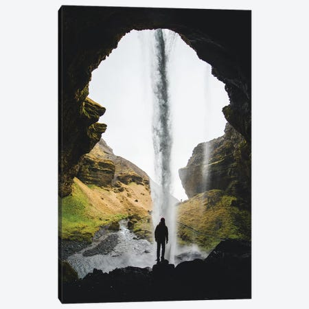 Icelandic Waterfalls II Canvas Print #FSB30} by Steffen Fossbakk Art Print