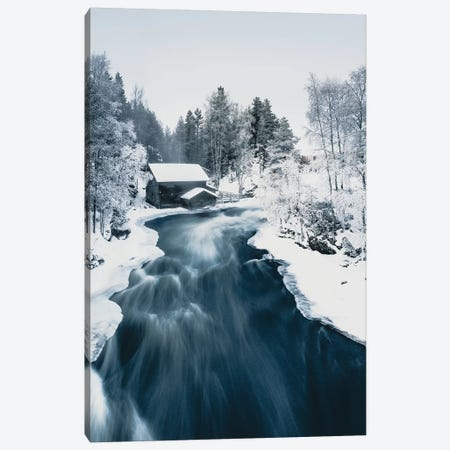 Mill in Kuusamo, Finland Canvas Print #FSB36} by Steffen Fossbakk Canvas Art