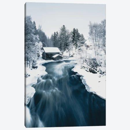 Mill in Kuusamo, Finland Canvas Print #FSB36} by Steffen Fossbakk Canvas Art