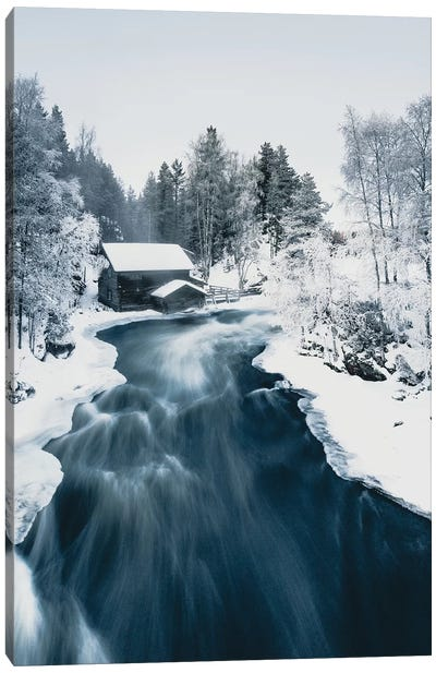 Mill in Kuusamo, Finland Canvas Art Print