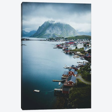 Reine, Lofoten, Norway Canvas Print #FSB43} by Steffen Fossbakk Canvas Art