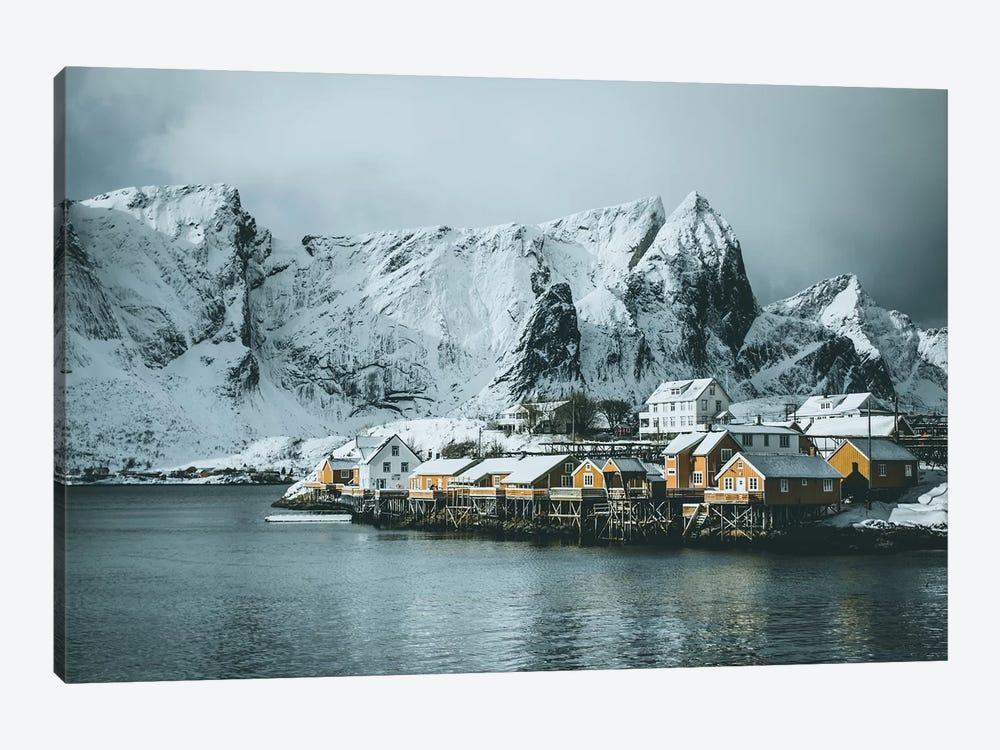 Sakrisøy Fishing Village, Lofoten islands, Norway by Steffen Fossbakk 1-piece Canvas Art