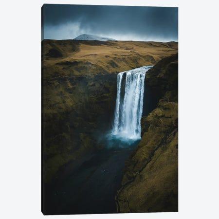 Skogafoss, Iceland Canvas Print #FSB52} by Steffen Fossbakk Canvas Print