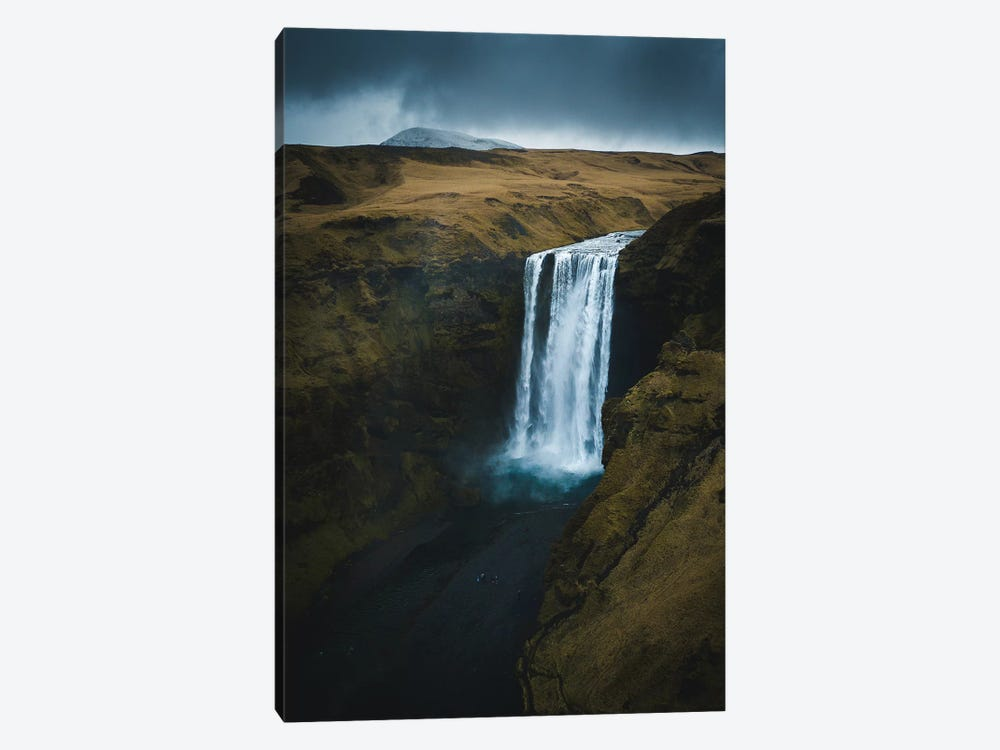 Skogafoss, Iceland by Steffen Fossbakk 1-piece Canvas Art