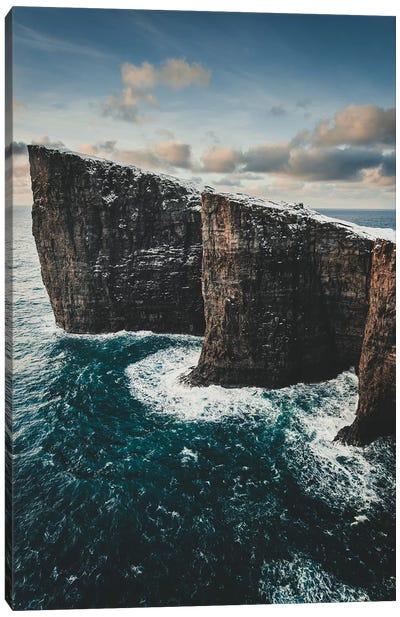 Slave Cliffs, Faroe Islands Canvas Art Print