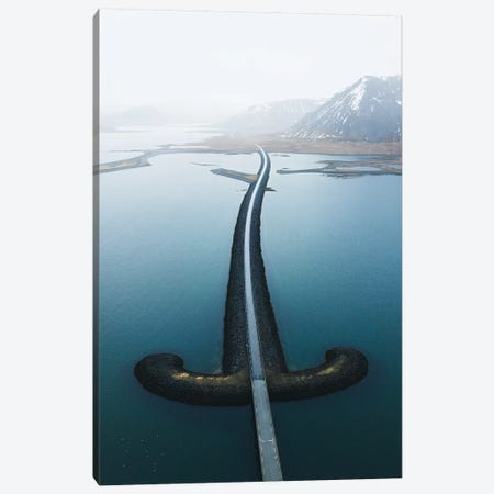 Sword Road of Iceland II Canvas Print #FSB56} by Steffen Fossbakk Canvas Artwork
