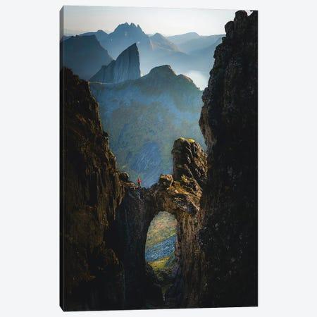 The Kings Bridge, Senja, Norway Canvas Print #FSB58} by Steffen Fossbakk Canvas Art Print