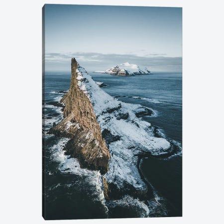Tindolmur, Faroe Islands Canvas Print #FSB60} by Steffen Fossbakk Canvas Wall Art
