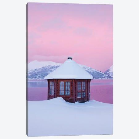 Cold Mornings In Senja Canvas Print #FSB67} by Steffen Fossbakk Art Print