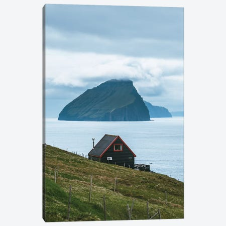 Faroe Views Canvas Print #FSB69} by Steffen Fossbakk Canvas Artwork