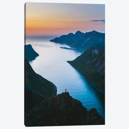 Fjords Of Senja Canvas Print #FSB71} by Steffen Fossbakk Canvas Print