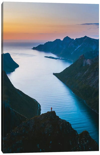 Fjords Of Senja Canvas Art Print