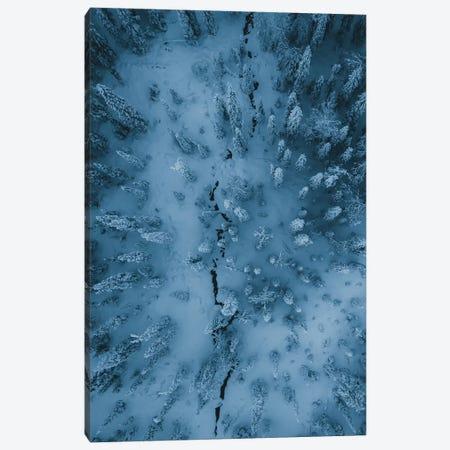 Frozen Forest, Finish Lapland 3-Piece Canvas #FSB74} by Steffen Fossbakk Canvas Wall Art