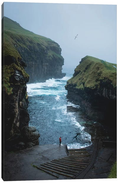 Gjogv, Faroe Islands Canvas Art Print