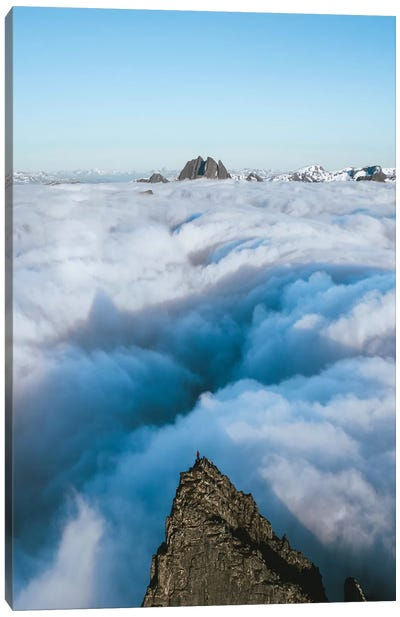 King Of The Clouds Canvas Art Print