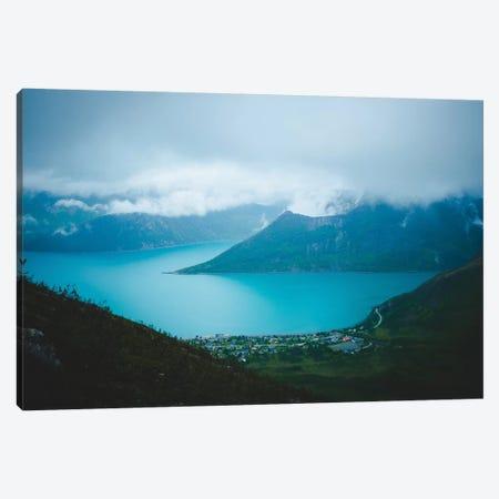 Moody Days In Fjordgård Canvas Print #FSB85} by Steffen Fossbakk Canvas Print