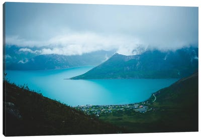 Moody Days In Fjordgård Canvas Art Print
