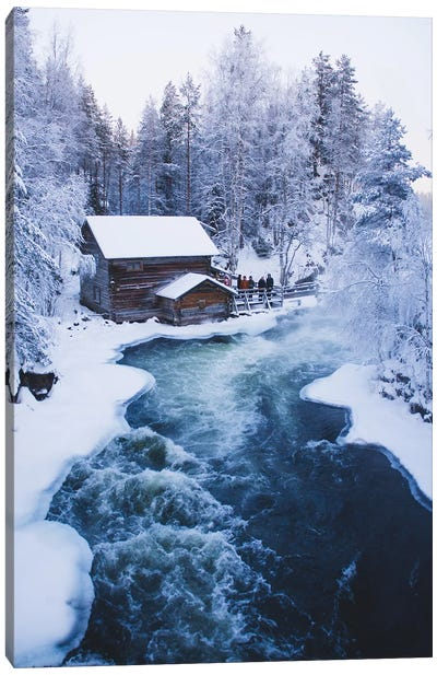 Myllykoski Mill Canvas Art Print