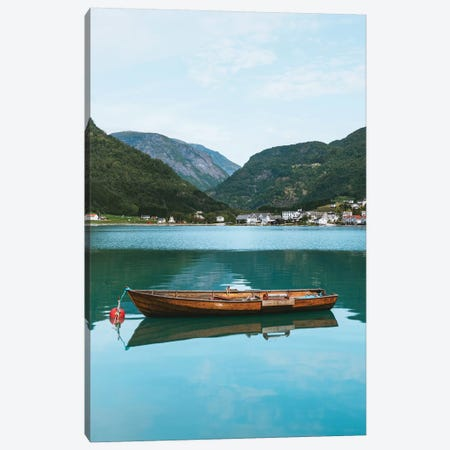 Norwegian Fjords Canvas Print #FSB95} by Steffen Fossbakk Canvas Artwork