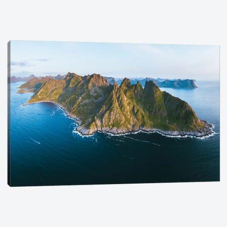 Rugged Landscapes Of Senja Island Canvas Print #FSB97} by Steffen Fossbakk Canvas Art
