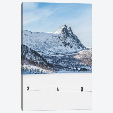 Easter Vacation Canvas Print #FSB9} by Steffen Fossbakk Canvas Wall Art
