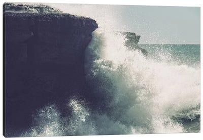 Breaking Waves Canvas Art Print