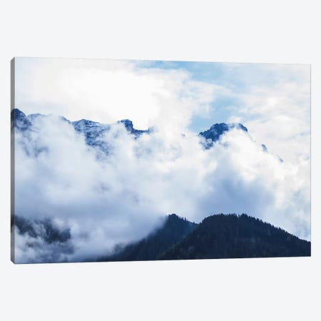 Cloudy Mountain I Canvas Print #FSC12} by Florian Schleinig Canvas Art