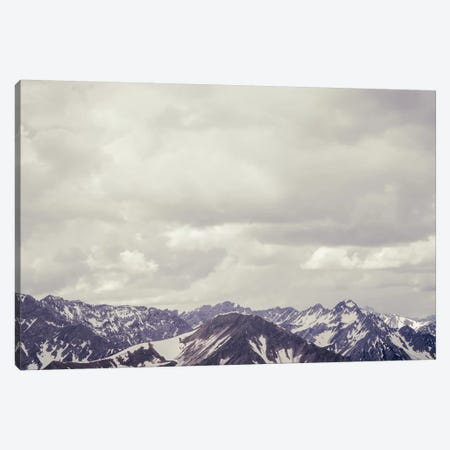 Cloudy Mountain II Canvas Print #FSC13} by Florian Schleinig Canvas Art