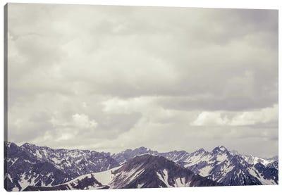 Cloudy Mountain II Canvas Art Print