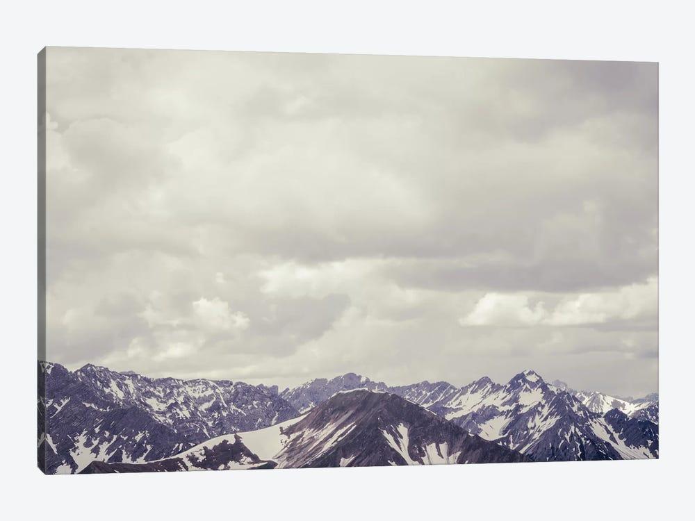 Cloudy Mountain II by Florian Schleinig 1-piece Canvas Wall Art