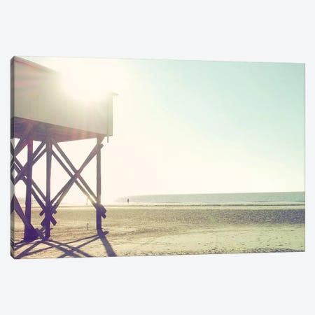 At The Beach I Canvas Print #FSC1} by Florian Schleinig Art Print