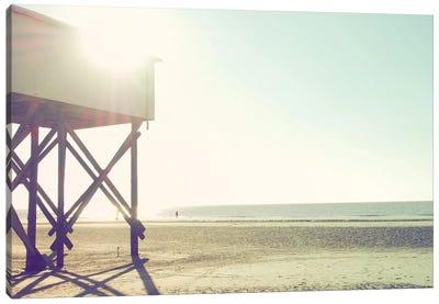 At The Beach I Canvas Art Print