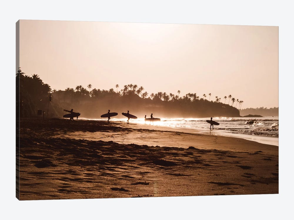 Morning At The Beach by Florian Schleinig 1-piece Canvas Wall Art