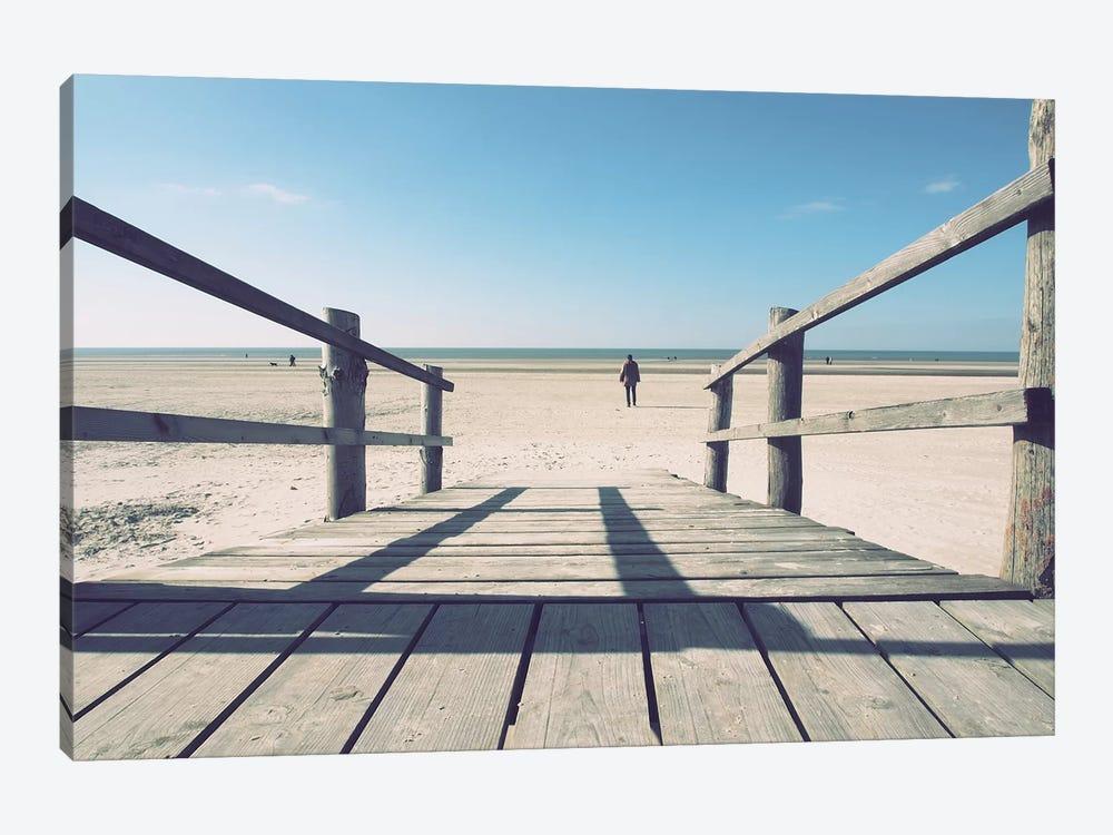Path To The Beach by Florian Schleinig 1-piece Canvas Art