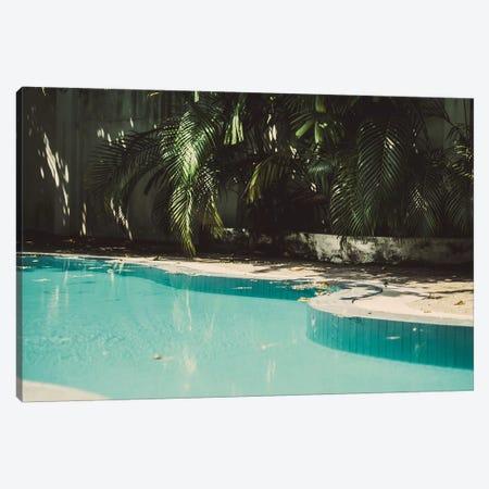 Pool Party Canvas Print #FSC30} by Florian Schleinig Canvas Artwork