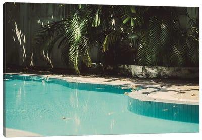 Pool Party Canvas Art Print