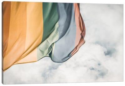 Rainbow Flag Canvas Art Print