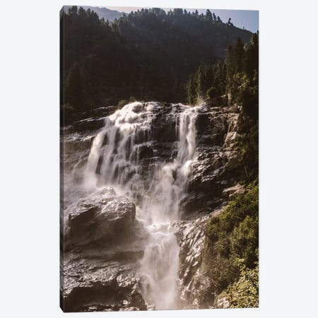 Waterfall, Stubai Valley, Austria, I Canvas Print #FSC52} by Florian Schleinig Canvas Artwork