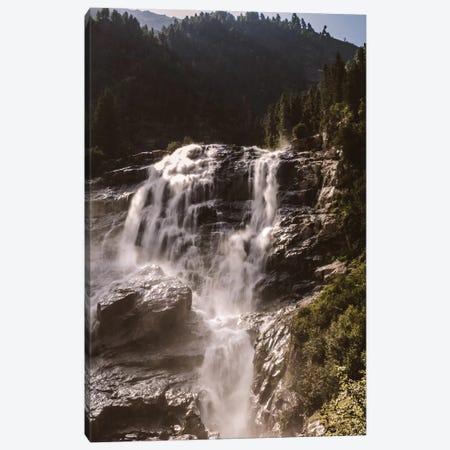 Waterfall, Stubai Valley, Austria, I Canvas Print #FSC52} by Florian Schleinig Canvas Artwork