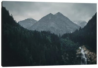 Waterfall, Stubai Valley, Austria, II Canvas Art Print