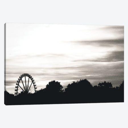 Big Wheel Scheme Canvas Print #FSC59} by Florian Schleinig Canvas Art