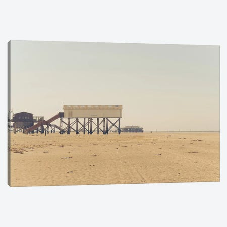 At The Beach V Canvas Print #FSC5} by Florian Schleinig Canvas Artwork