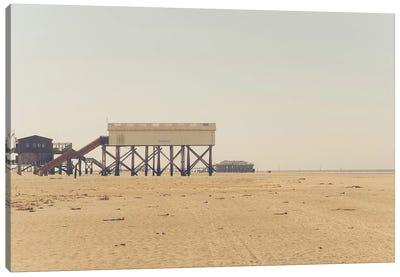 At The Beach V Canvas Art Print