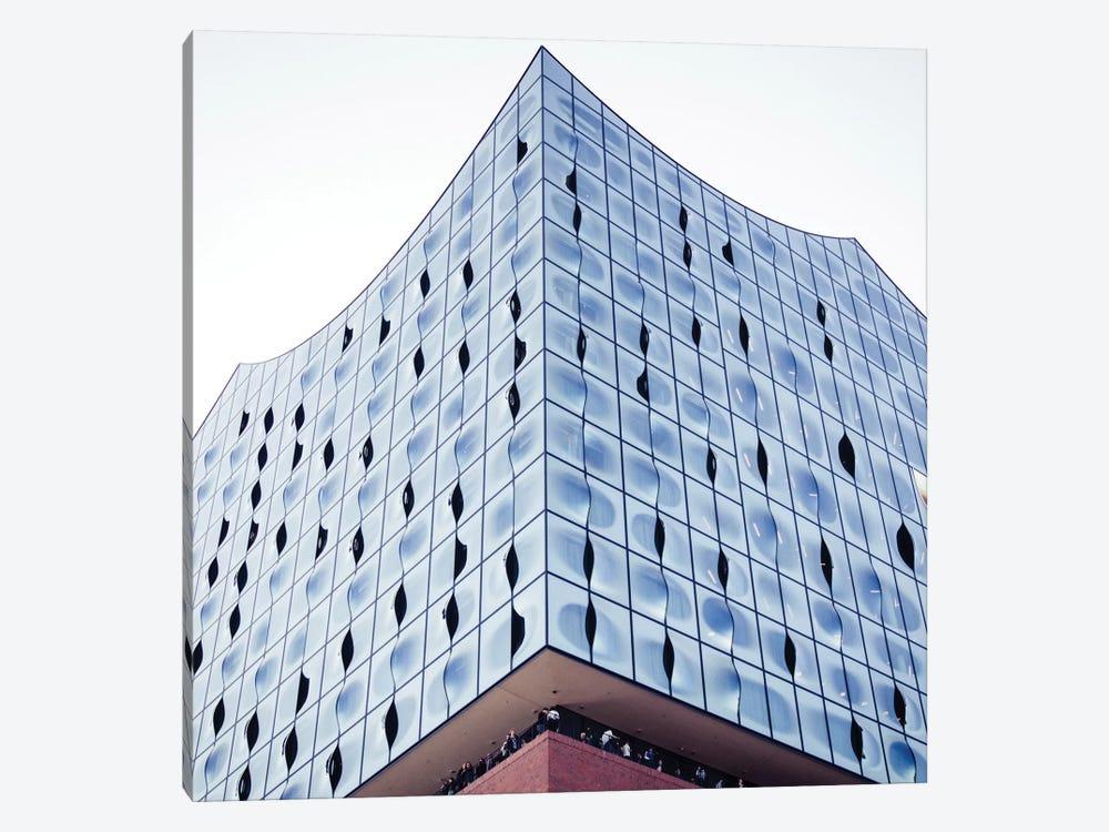 Elbphilharmonie In Hamburg by Florian Schleinig 1-piece Canvas Art Print
