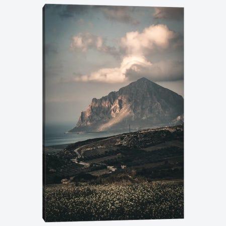 Sicily Landscape Canvas Print #FSC77} by Florian Schleinig Canvas Art Print