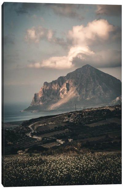 Sicily Landscape Canvas Art Print