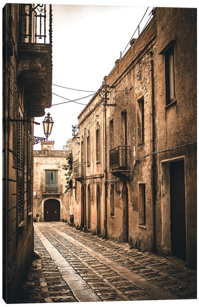 Sicily Streets Canvas Art Print